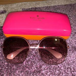 Kate Spade Cat Eye Pink Frame Sunglasses